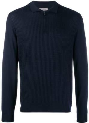 Corneliani long-sleeved zip-up pullover