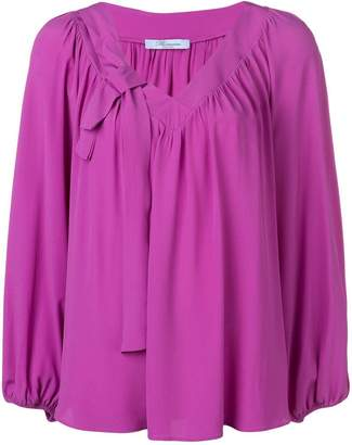 Blumarine billowy sleeve blouse