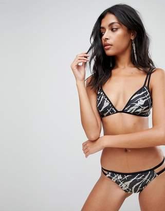 AllSaints Katoi bikini top