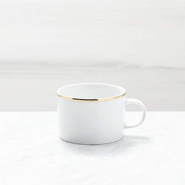Maison Gold Rim Cup