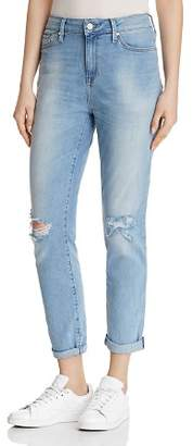 Mavi Jeans Lea Straight Jeans in Light Ripped Vintage - 100% Exclusive