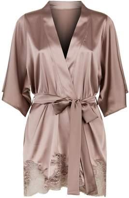 Fleur of England Silk Robe