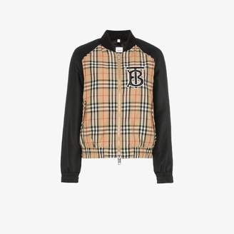 Burberry Harlington Vintage check bomber jacket