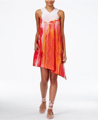 RACHEL Rachel Roy Asymmetrical Shift Dress, Only at Macy's $119 thestylecure.com