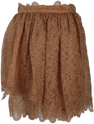 Ermanno Scervino Lace Mini Skirt