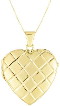 Sphera Milano 14K Yellow Gold Heart Locket Necklace