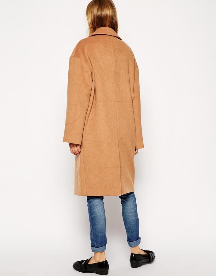 ASOS TALL Cocoon Coat 4