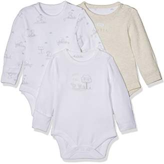 Mothercare Little Lamb Bodysuits - 3 Pack,(Manufacturer Size:062)