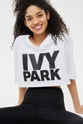 Ivy Park Logo Crop V Tee