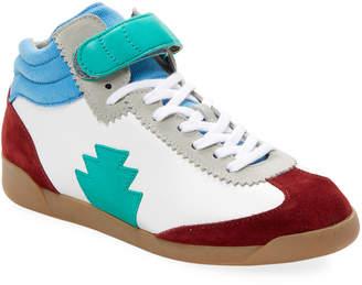Jerome Dreyfuss Davina Leather Sneaker