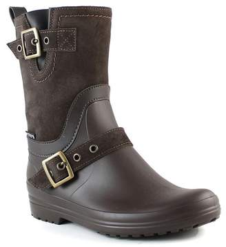 Santana Canada Cayley Waterproof Mixed Media Rain Boot
