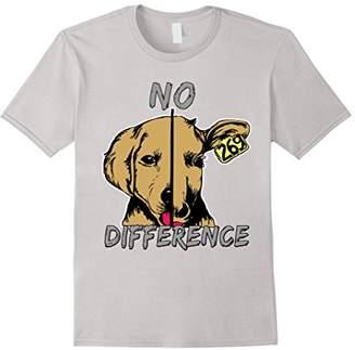 No Difference Dog Cow Shirt - Vegan Shirt