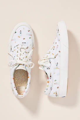 135990ace48 Keds x Rifle Paper Co. Anchor Sun Girls Sneakers