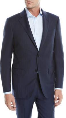 Ermenegildo Zegna Men's Tic Striped Wool Two-Piece Suit