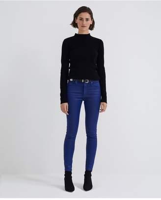 AG Jeans The Farrah Ankle - Leatherette Lt Egyptian Blue