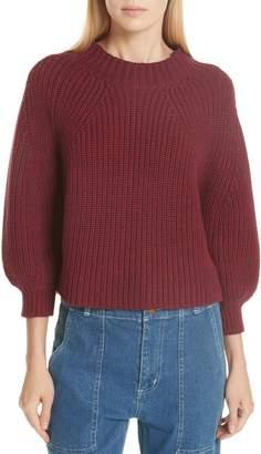 Apiece Apart Cotton & Cashmere Sweater