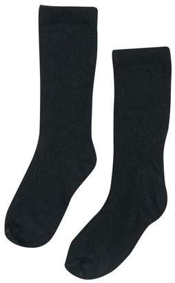 Bebe Organic Louisa Socks, Black
