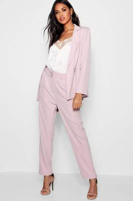 boohoo Stripe Tailored Suit Trouser
