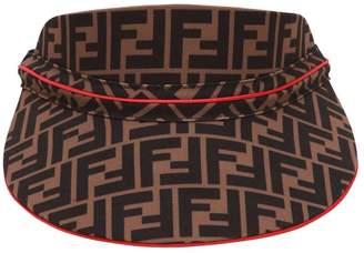 Fendi Logo Printed Techno Visor