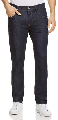 Hudson Blake Slim Straight Fit Jeans in Anonymous