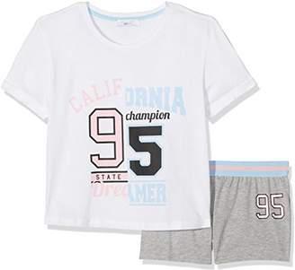 New Look 915 Girl's 5163979 Pyjama Sets, (Light Pink), Medium