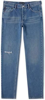 Balenciaga Knee Hole Jean