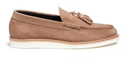 Paul SmithPaul Smith 'Carver' tassel suede loafers