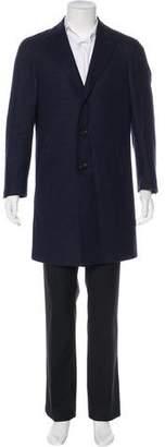 Canali Wool Car Coat