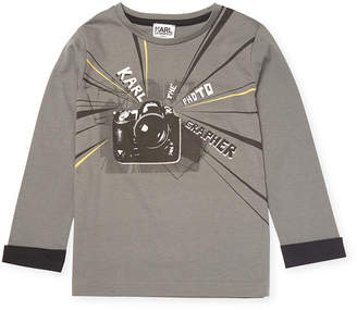 Karl Lagerfeld Crewneck T-Shirt