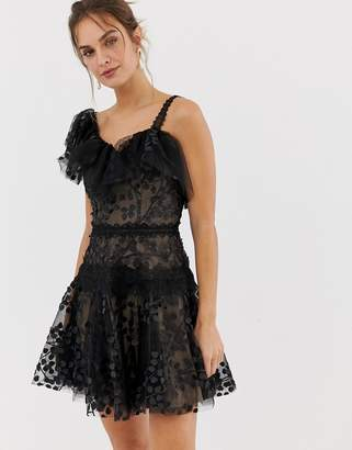 Bronx And Banco and Banco Layla ruffle mini dress