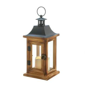 Gallery of Light CLASSICAL SQUARE LANTERN WITH LED CANDLE