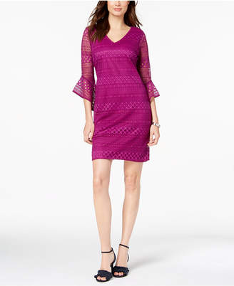 Alfani Petite Lace Shift Dress, Created for Macy's