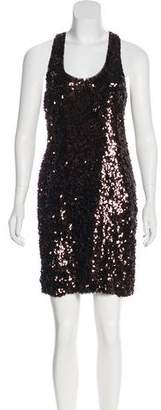 Vince Sequined Mini Dress