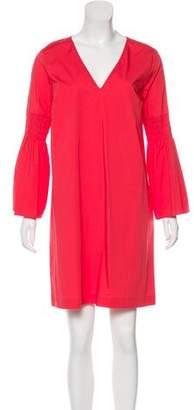 MICHAEL Michael Kors Ruche-Accented Mini Dress w/ Tags