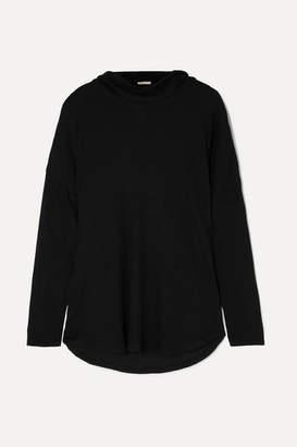 Eberjey Ula Waffle-knit Modal-blend Top - Black