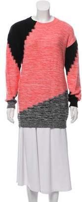 Sonia Rykiel Sonia by Printed Crew Neck Sweater