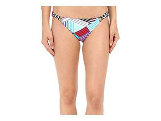Red Carter Ring Side Classic Hipster Bottoms Women's Swimwear