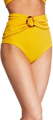 Johanna Ortiz Une Coquillage High-Waist Bikini Bottom