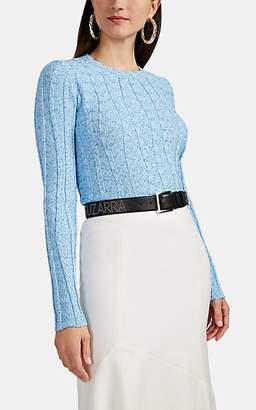 Altuzarra Women's Fedelli Rib-Knit Sweater - Lt Blue