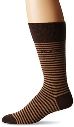 HUGO BOSS Men's Brian Striped Crew Sock