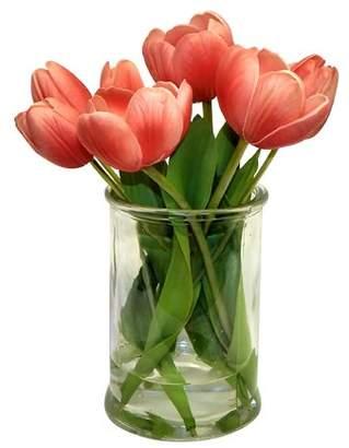 House of Hampton Real Touch Tulip Floral Arrangement Flower
