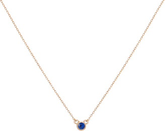 AUrate New York Birthstone Necklace