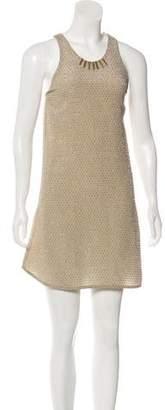 Alexander Wang Embellished Mini Dress