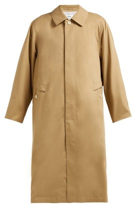 Chimala Peach Single Breasted Cotton Twill Trench Coat - Womens - Camel