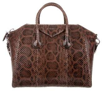 Givenchy Python Medium Antigona Bag w/ Tags