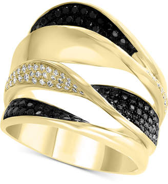 Effy Diamond Pave Twist Multi-Layer Ring (7/8 ct. t.w.) in 14k Gold