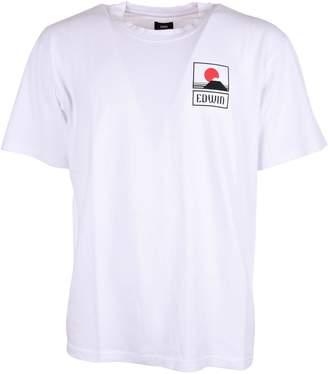Edwin Logo Print T-shirt