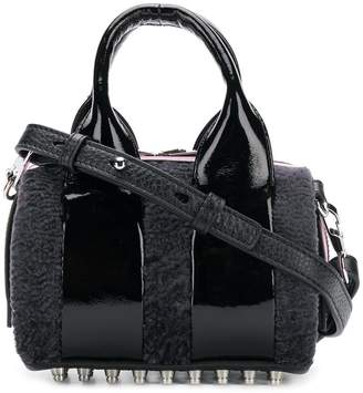 Alexander Wang leather mini bowling bag