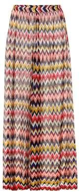 Missoni Mare Striped knit wide-leg pants