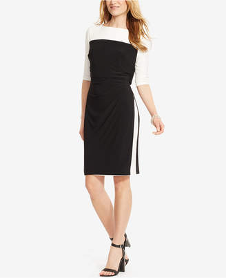 American Living Colorblocked Popover Dress $79 thestylecure.com